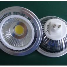 12W AC230V COB ES111 AR111 GU10/G53 Sockel LED Strahler Leuchtmittel Reflektor Lampen 40º