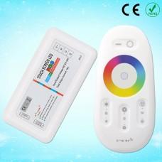 2,4G 216W DC12/ 432W DC24V  RGB LED Controller Touch-TYP  für RGB LED Lampen Strips usw.