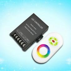 2,4G DC12-24V 360W RGB LED Controller Eisen Gehäuse mit Touch Fernbedienung für RGB LED Lampen