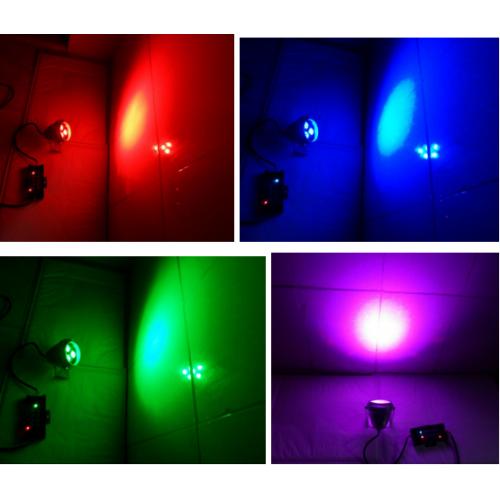 Top 3x3w 12V RGB led Außenstrahler Gartenlampe Fluter für Garten  ZE65