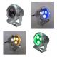 9w/3x3w 12V RGB led Außenstrahler Gartenlampe Fluter für Garten, Außenbereich, IP65