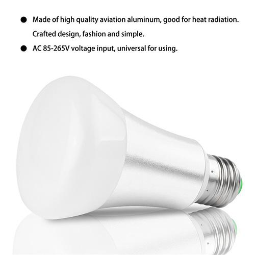 10w ac230v rgbw rgb wei 6000k e27 led gl hlampe birne leuchtmittel dimmbar. Black Bedroom Furniture Sets. Home Design Ideas