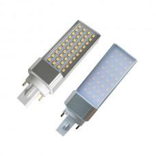 6W AC220V G24 G23 E27 SMD2835 LED PL Leuchtmittel  ersetzt CFL Neutral Weiß 4000K