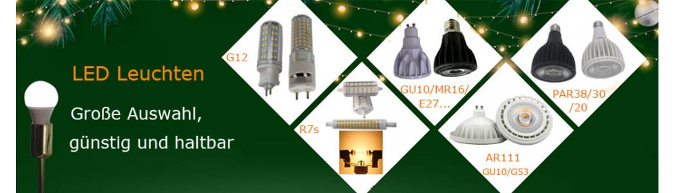 LED-Lampen-Leuchten