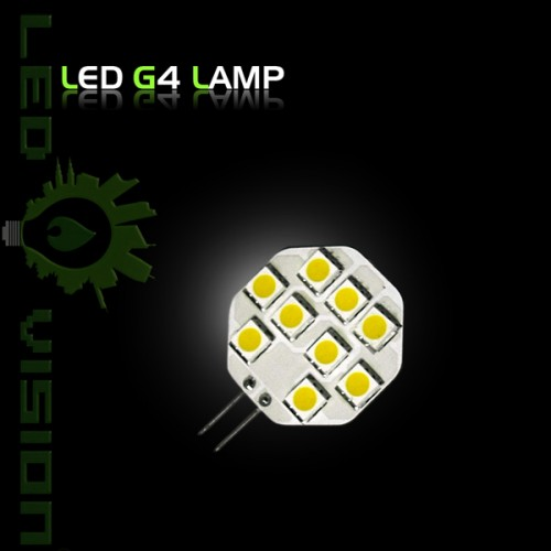led leuchtmittel lampe stiftsockel g4 12volt 9er 5050 smd leds reinweiss warmweiss. Black Bedroom Furniture Sets. Home Design Ideas