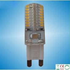 3W SMD Mini G9 LED Leuchtmittel Birnen mit G9 Sockel, 64er 3014smd leds 230v, Ersatz für G9 Halogen Hochvolt
