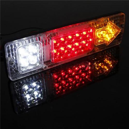 2x 1w 12v 24v 30cm led r ckleuchte r cklicht heckleuchte for Led autolampen