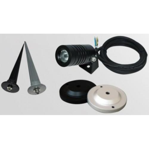 3w dc24v ac230v cree led gartenlampe erdspie strahler. Black Bedroom Furniture Sets. Home Design Ideas