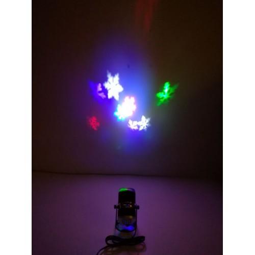 4w Led Projektor Laser Licht Weihnachten Deko Beleuchtung Innen Ip20