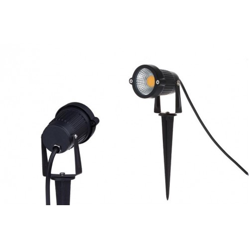 3w 5w 12v 230v cob led gartenlampe gartenstrahler spie strahler wasserdicht ip65. Black Bedroom Furniture Sets. Home Design Ideas