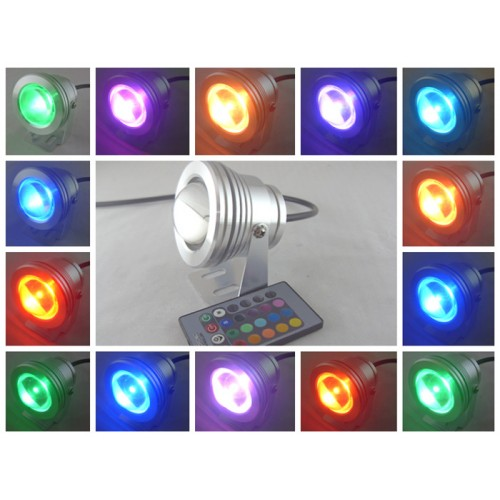 10w 12v led unterwasserstrahler leuchte garten teich boot ip65 rgb mit memory function. Black Bedroom Furniture Sets. Home Design Ideas