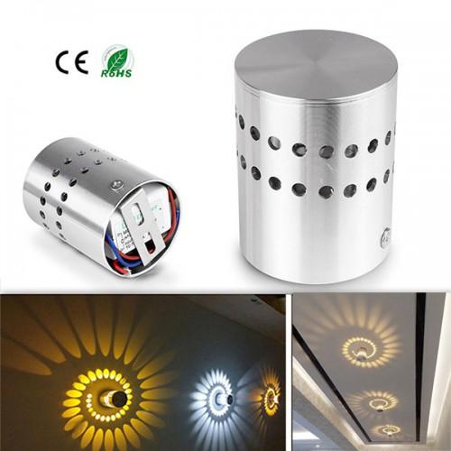 5w ac220v 230v led zylinder wandleuchte wand decken dekoration lampe beleuchtung - Decken dekoration ...