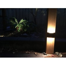 6W/2*3W 12V/AC220V LED oben und unten Wandleuchte Wand Strahler Lampe IP65 Weiß / Schwarz