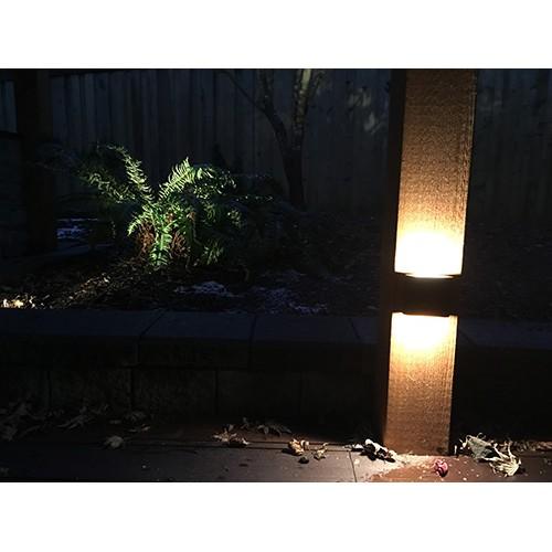 Beleuchtung 2 Lampen Strahler Wand Garten & Terrasse