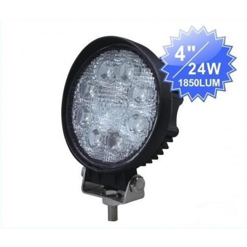24w led arbeitsscheinwerfer arbeitslampe 12v 24v ip67 f r. Black Bedroom Furniture Sets. Home Design Ideas