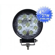 27w led arbeitsscheinwerfer arbeitslampe 12v 24v ip67 f r. Black Bedroom Furniture Sets. Home Design Ideas