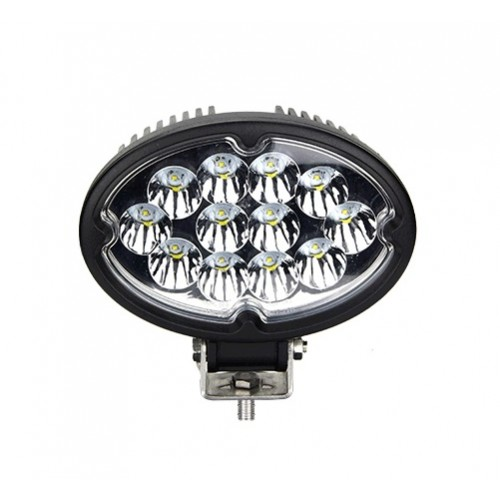 36w dc12v 24v oval cree led arbeitsscheinwerfer. Black Bedroom Furniture Sets. Home Design Ideas