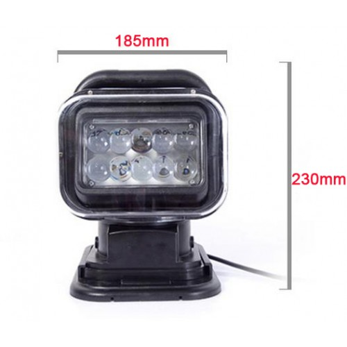 50w wireless remote cree led scheinwerfer suchscheinwerfer mit magnetfu offroad 12v 24v ip65 neu. Black Bedroom Furniture Sets. Home Design Ideas