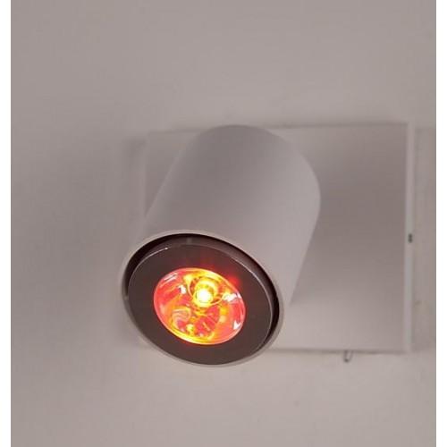 3w e27 gu10 mr16 rgb led stahler leuchtmittel spotlight for Deckenleuchte e27 strahler