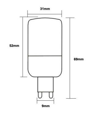 3 5w g9 e14 e27 led leuchtmittel birnen ministrahler mit sockel g9 e14 e27 mit 60er 3528smd. Black Bedroom Furniture Sets. Home Design Ideas