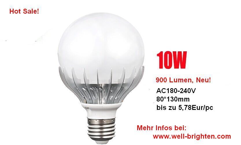 10w-SMD2835-LED-Birnen-Glühbirnen-Leuchtmittel-Neu!