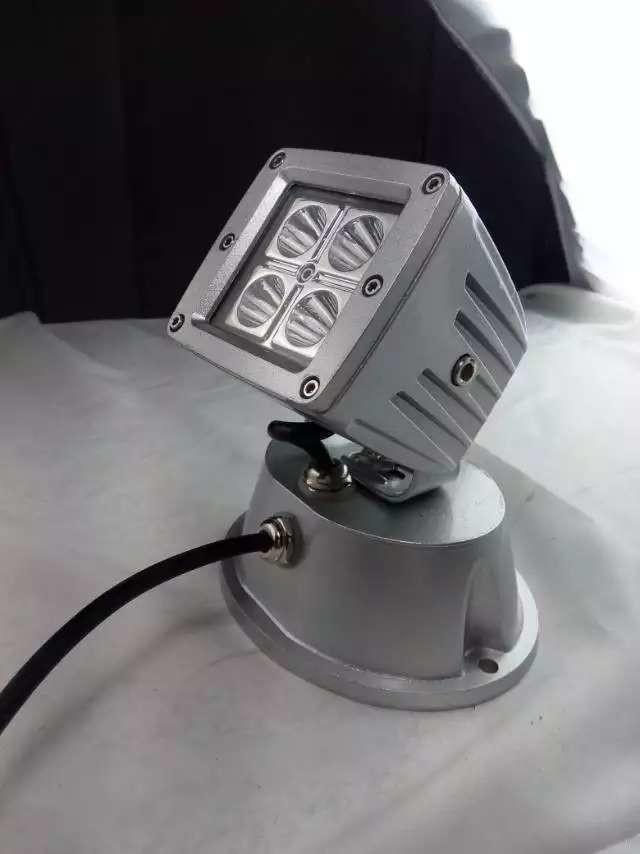 12w ac220v kompakt cree led strahler aussen fluter spot. Black Bedroom Furniture Sets. Home Design Ideas