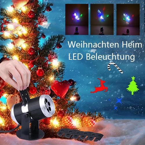Weihnachten-Heim-LED-Deko-Lampen